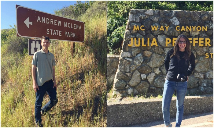 ndrew Molera and Julia Pheiffer State Parks