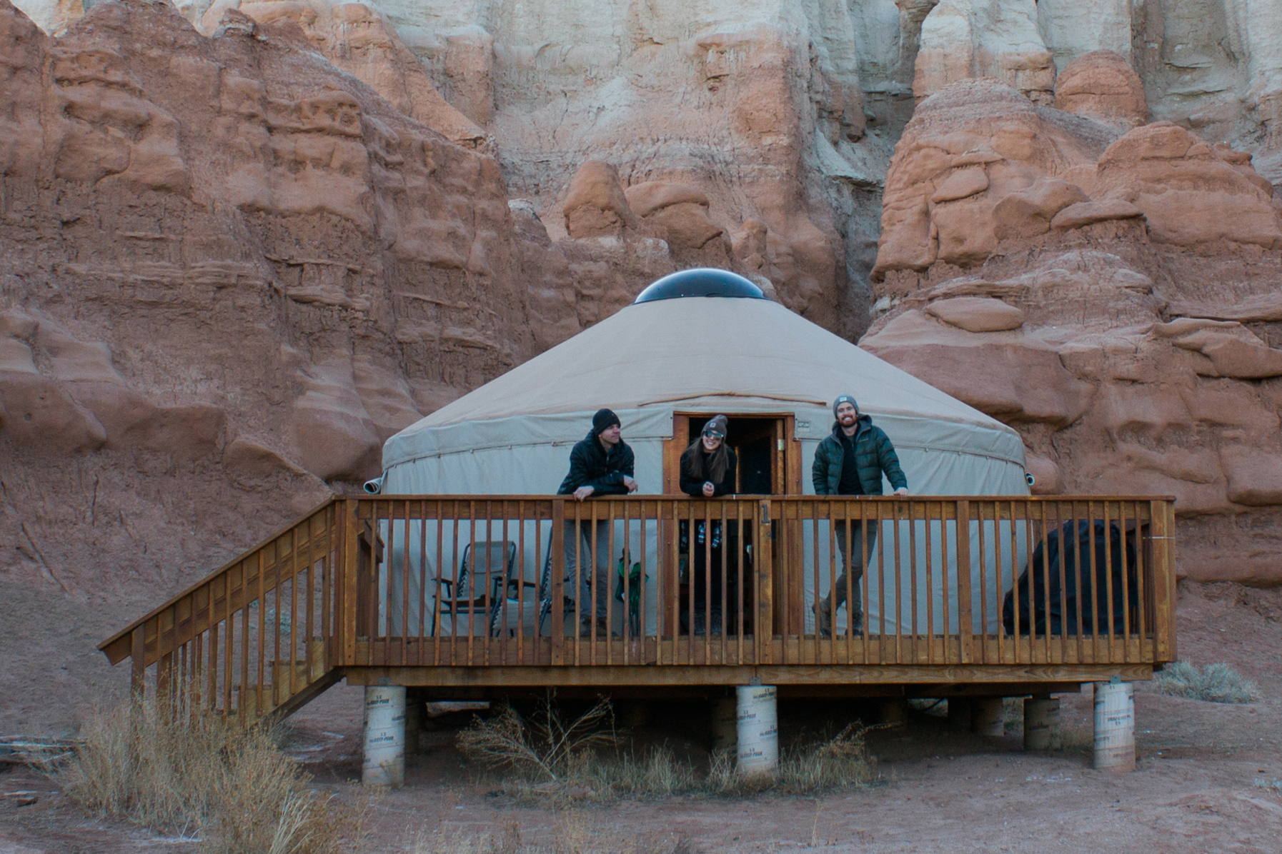 Goblin Valley Yurt