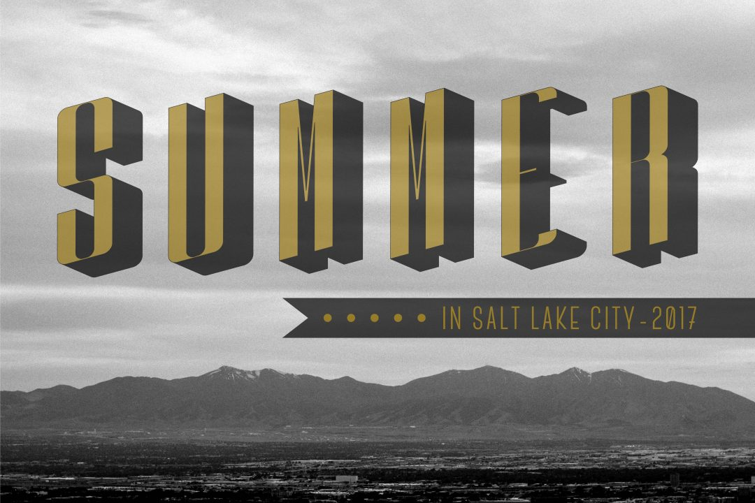 Summer In Salt Lake